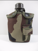 Woodland Camouflage Water Bottle